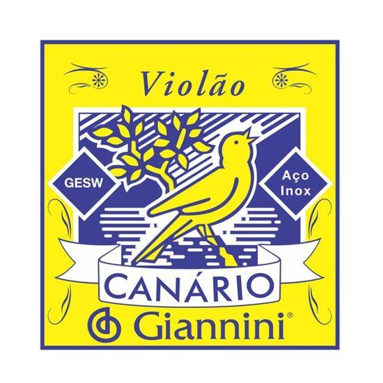 Encordoamento Giannini GESW para violão - Aço